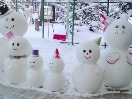 雪!降りますよ!